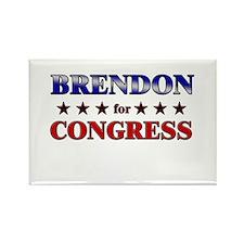 BRENDON for congress Rectangle Magnet