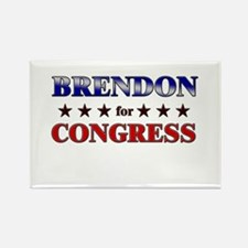 BRENDON for congress Rectangle Magnet