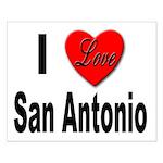 I Love San Antonio Small Poster