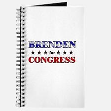 BRENDEN for congress Journal