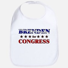 BRENDEN for congress Bib