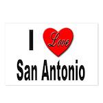 I Love San Antonio Postcards (Package of 8)