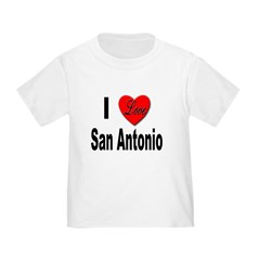 I Love San Antonio T