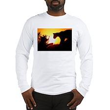 LIONS PLAY AT DAWN Long Sleeve T-Shirt