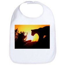 LIONS PLAY AT DAWN Bib