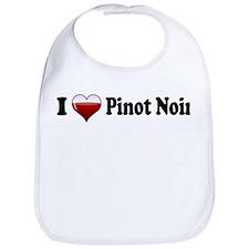 I Love Pinot Noir Bib