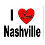 I Love Nashville Small Poster