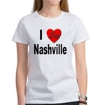 I Love Nashville (Front) Women's T-Shirt