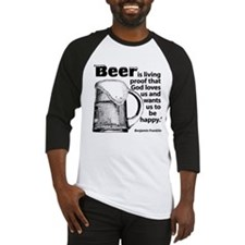Beer Lover I Baseball Jersey