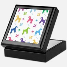 Airedale Terrier Designer Keepsake Box
