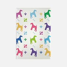 Airedale Terrier Designer Rectangle Magnet