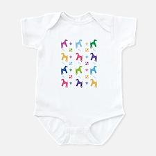 Airedale Terrier Designer Infant Bodysuit