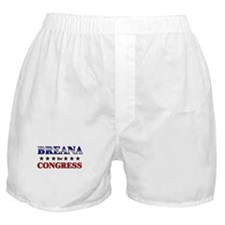 BREANA for congress Boxer Shorts