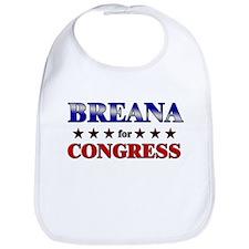 BREANA for congress Bib