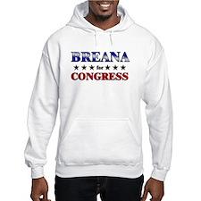 BREANA for congress Hoodie