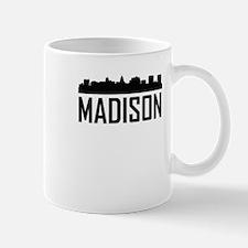 Skyline of Madison WI Mugs