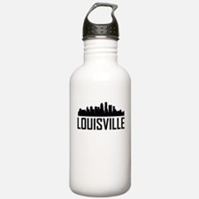 Skyline of Louisville KY Water Bottle