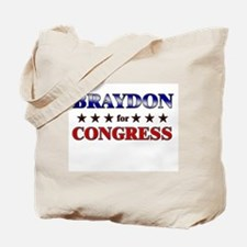 BRAYDON for congress Tote Bag