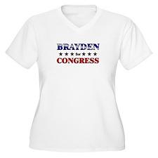 BRAYDEN for congress T-Shirt