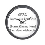 THE PUREST LOVE Wall Clock