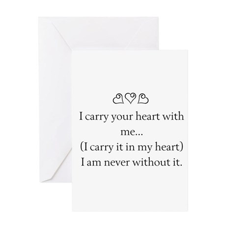 THE PUREST LOVE Greeting Card