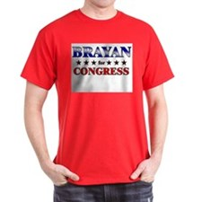 BRAYAN for congress T-Shirt