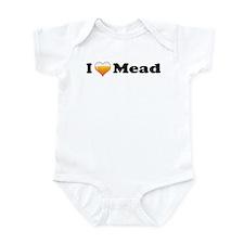 I Love Mead Infant Bodysuit