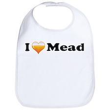 I Love Mead Bib