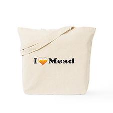 I Love Mead Tote Bag