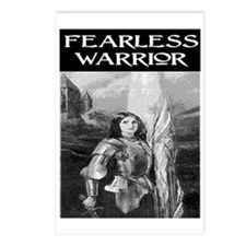 FEARLESS WARRIOR Postcards (Package of 8)