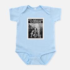FEARLESS WARRIOR Infant Bodysuit