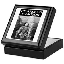 FEARLESS WARRIOR Keepsake Box