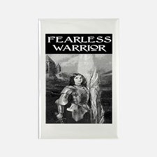 FEARLESS WARRIOR Rectangle Magnet