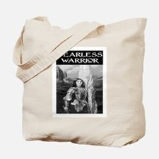FEARLESS WARRIOR Tote Bag