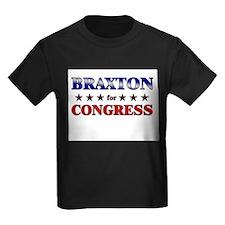 BRAXTON for congress T