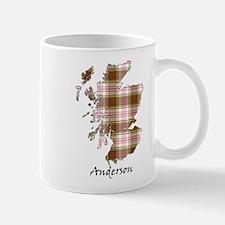 Map - Anderson dress Mug