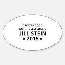Jill Stein 2016 Sticker (Oval)