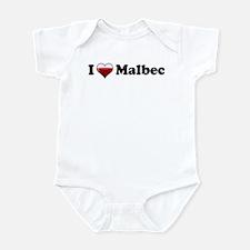I Love Malbec Infant Bodysuit