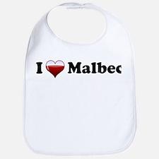 I Love Malbec Bib
