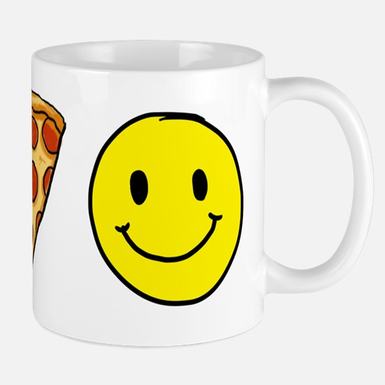 Beer Pizza Happiness Mug