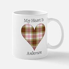 Heart - Anderson dress Mug