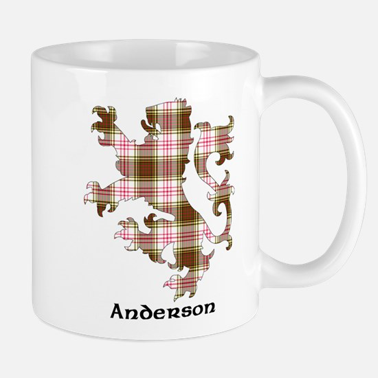 Lion - Anderson dress Mug