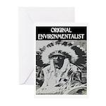 ORIGINAL ENVIRONMENTALIST Greeting Cards (Pk of 20