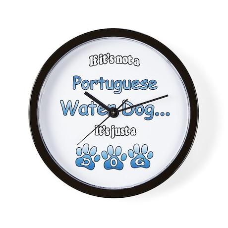Water Dog Not Wall Clock