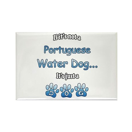 Water Dog Not Rectangle Magnet