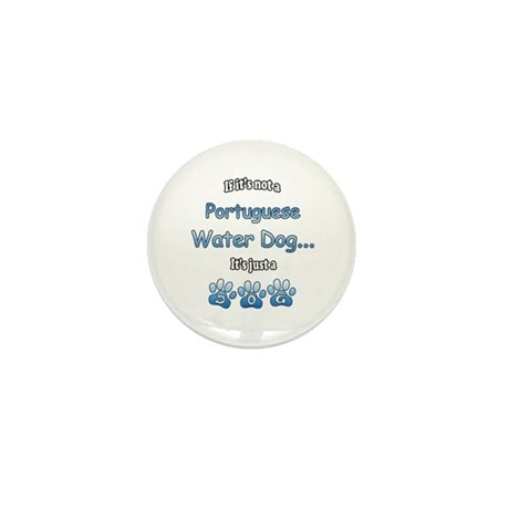Water Dog Not Mini Button (100 pack)