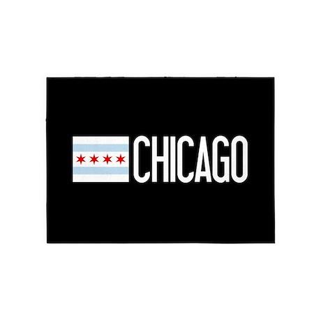Chicago: Chicagoan Flag U0026 Chicago 5u0027x7u0027Area Rug