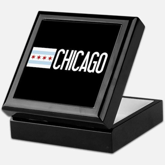 Chicago: Chicagoan Flag & Chicago Keepsake Box