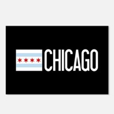 Chicago: Chicagoan Flag & Postcards (Package of 8)
