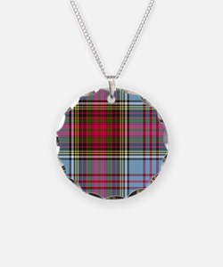 Tartan - Anderson Necklace Circle Charm